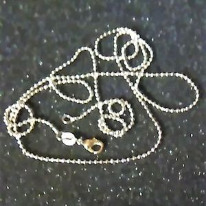 Jewelry - Sterling Silver ball chain 30 inch